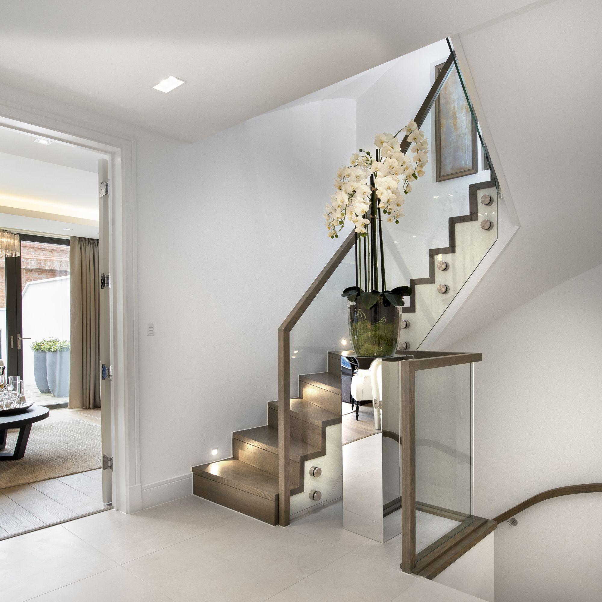 L trap trap maken trappen aan de beste prijs kwaliteit - Moderne designtrappen ...