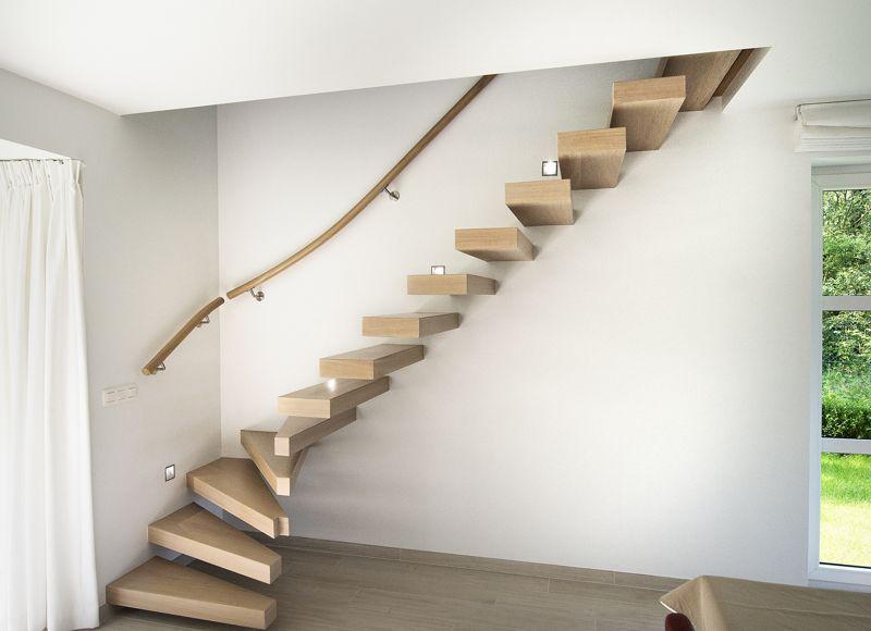 Prijs Zwevende Trap : Zwevende trappen beste prijzen houten trappen trap maken