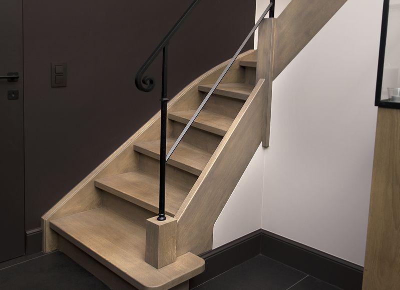 Houten trap maken landelijke moderne trappen